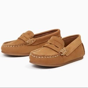 Zara Baby Boy Leather Loafers